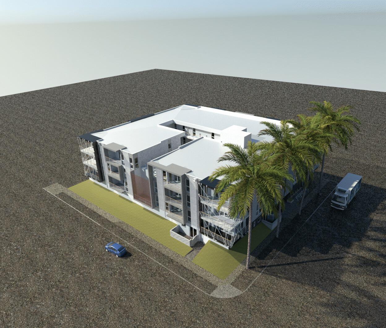 Old Work - WIP progress render for Minarc.