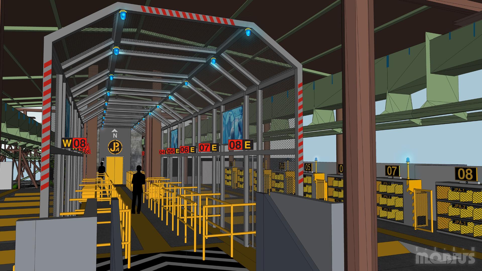 3D Concept for Load Station platform