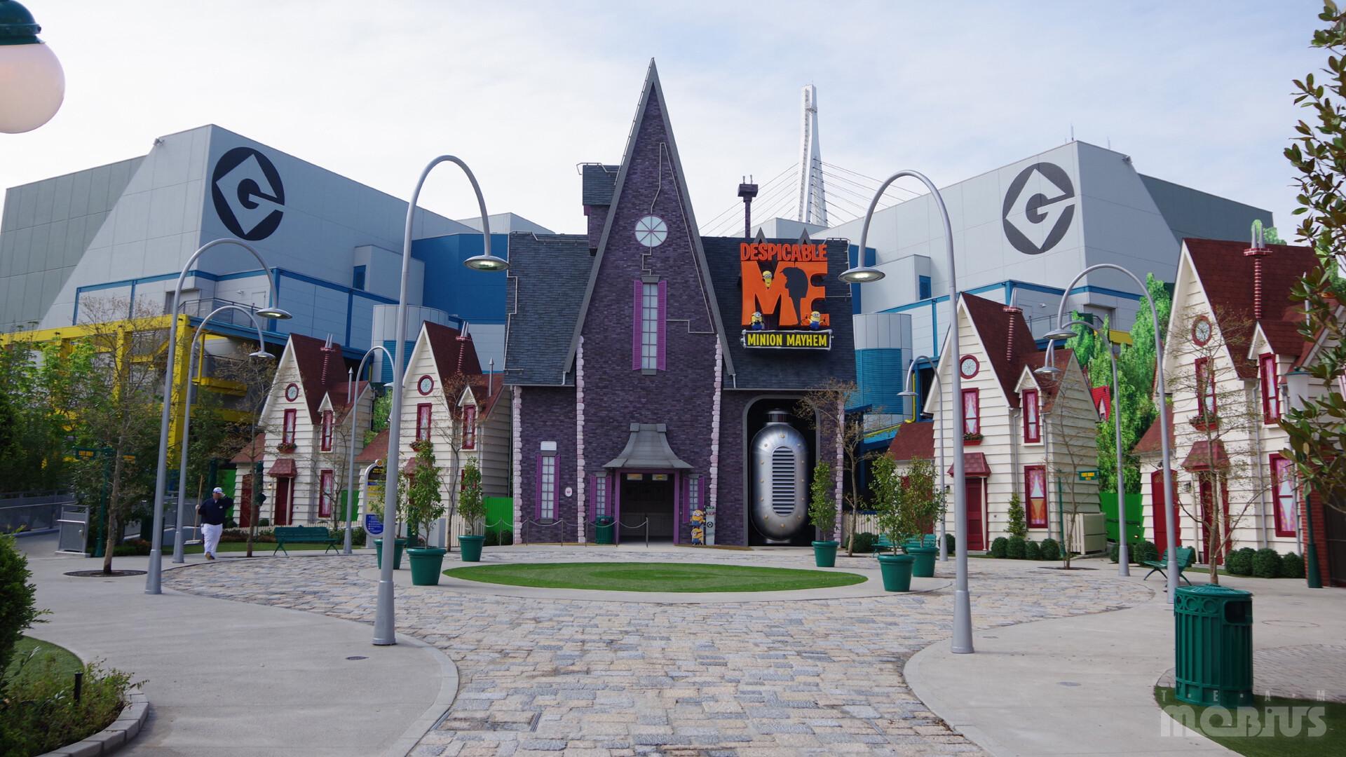 team M O B I U S - Universal Studios Japan: Despicable Me; Minion Mayhem &  Minion Park
