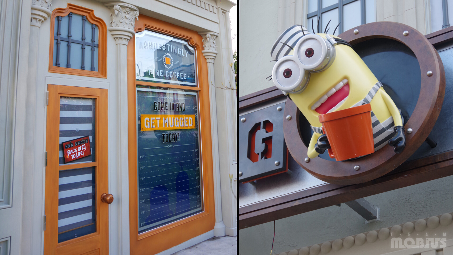 One of the facades in Minion Park