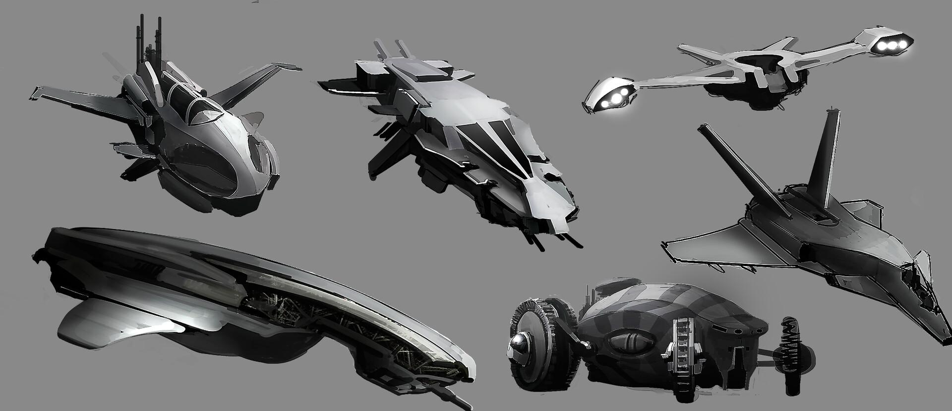 Nicolas chacin nicolaschacin spaceships thumbs