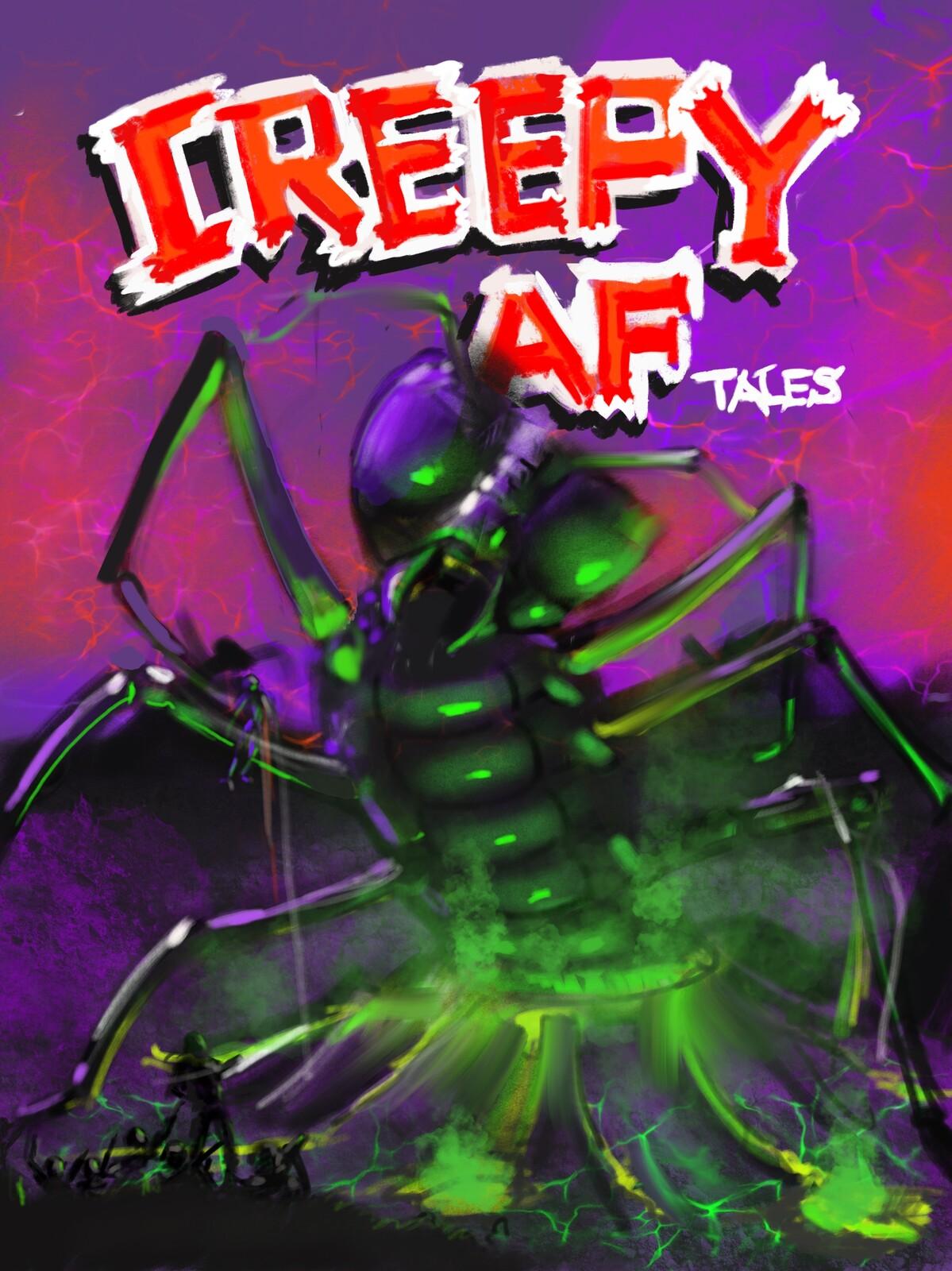Creepy A.F Tales cover art