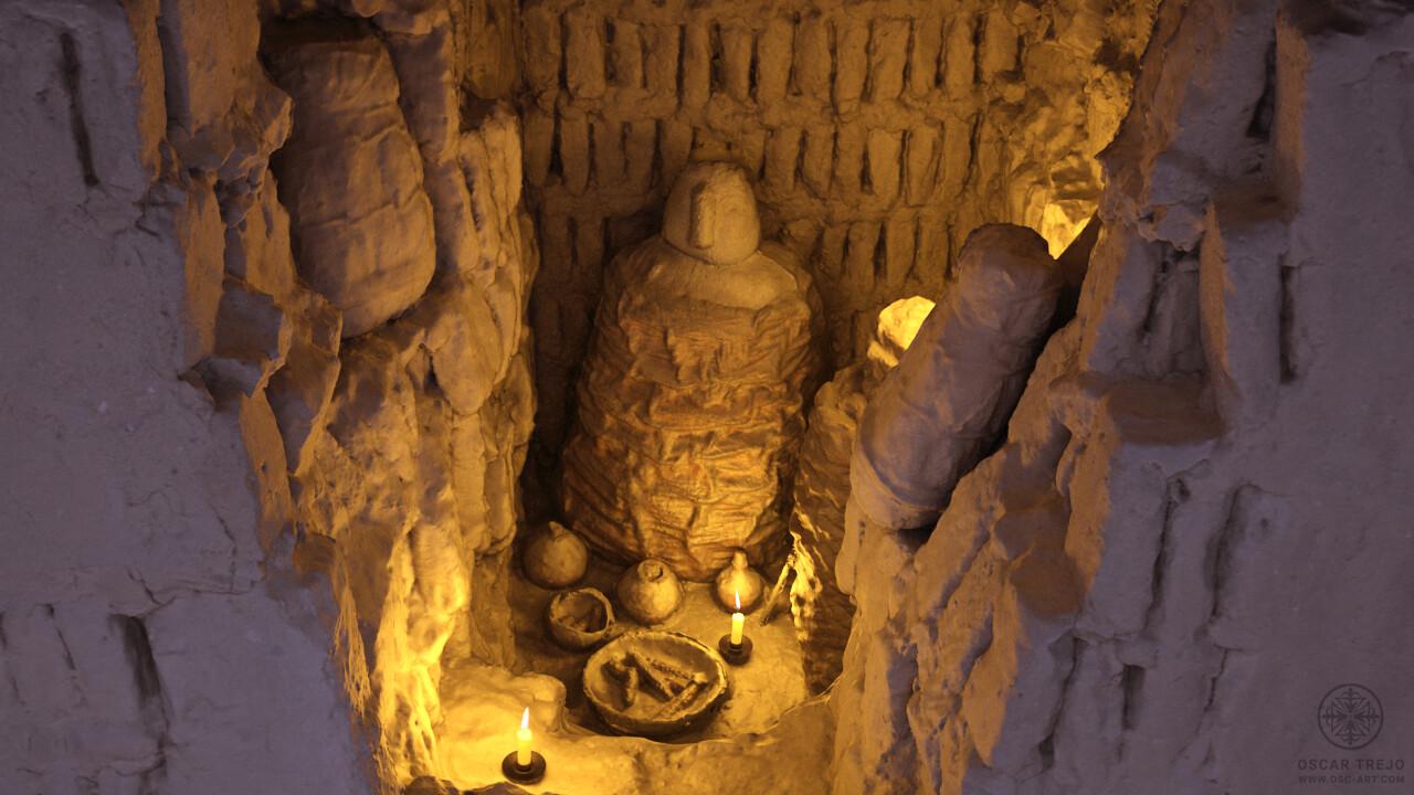 Oscar trejo sepultura velas