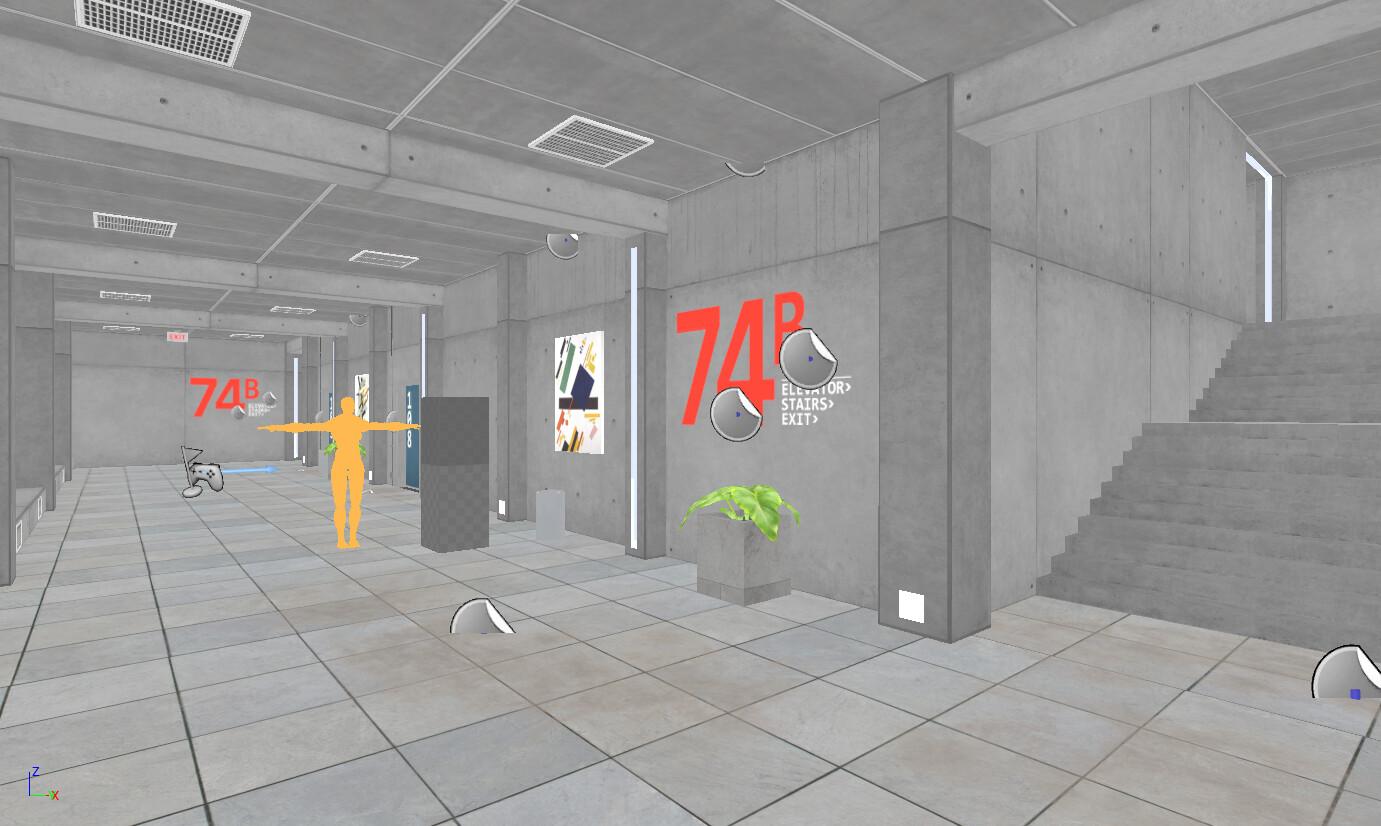 ArtStation - UE4 The Corridor Project (with Tutorial), World
