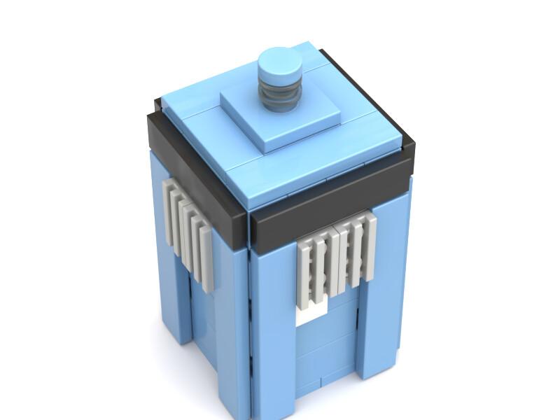 ArtStation - TARDIS In LEGO, Zach Collins