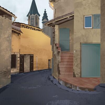 French village study