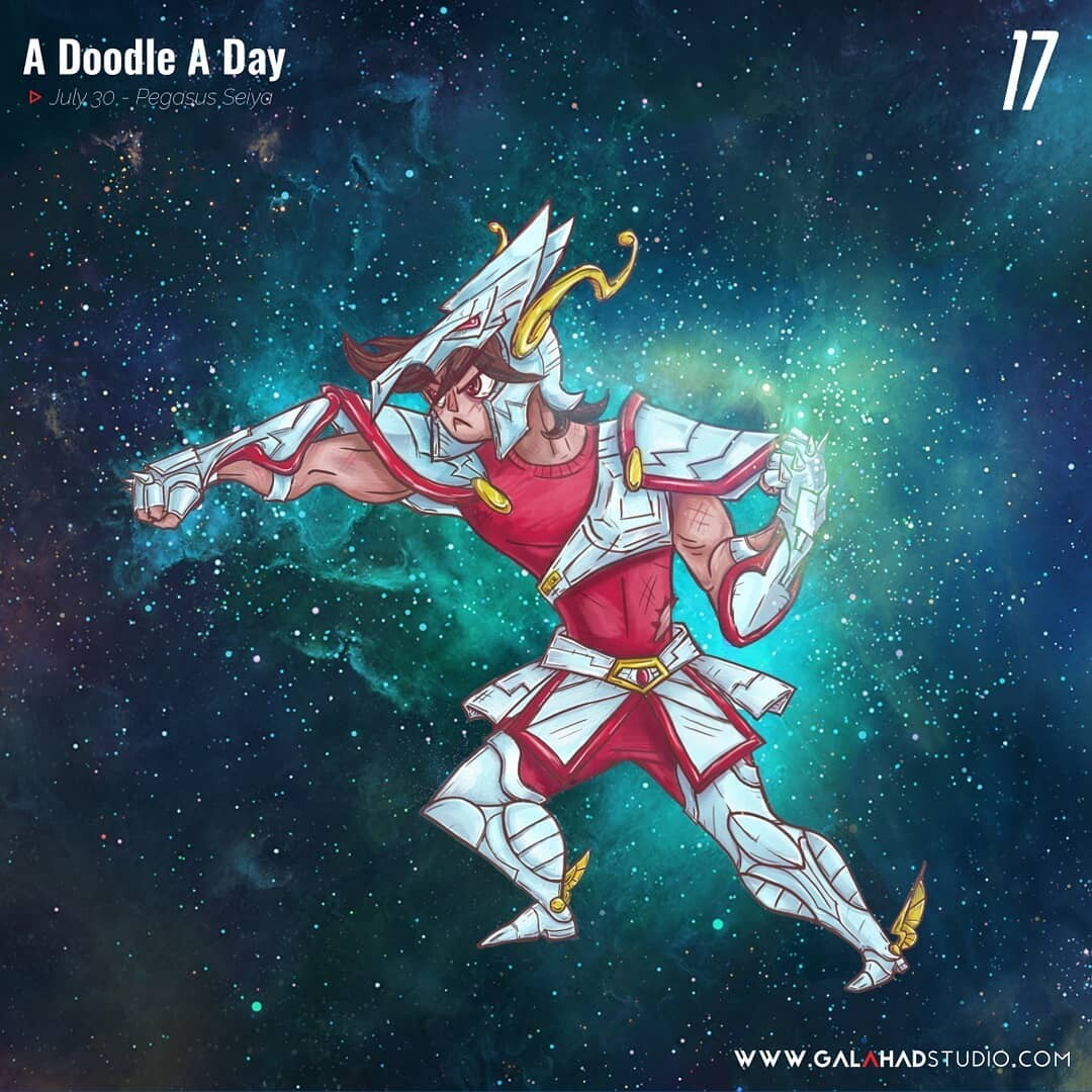 ArtStation - July 2018 - A Doodle a Day, Angel Galicia