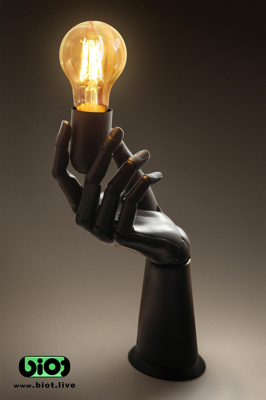 Sviatoslav gerasimchuk biot hand lamp holder