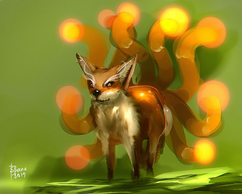 Benedick bana nine tail fox lores2