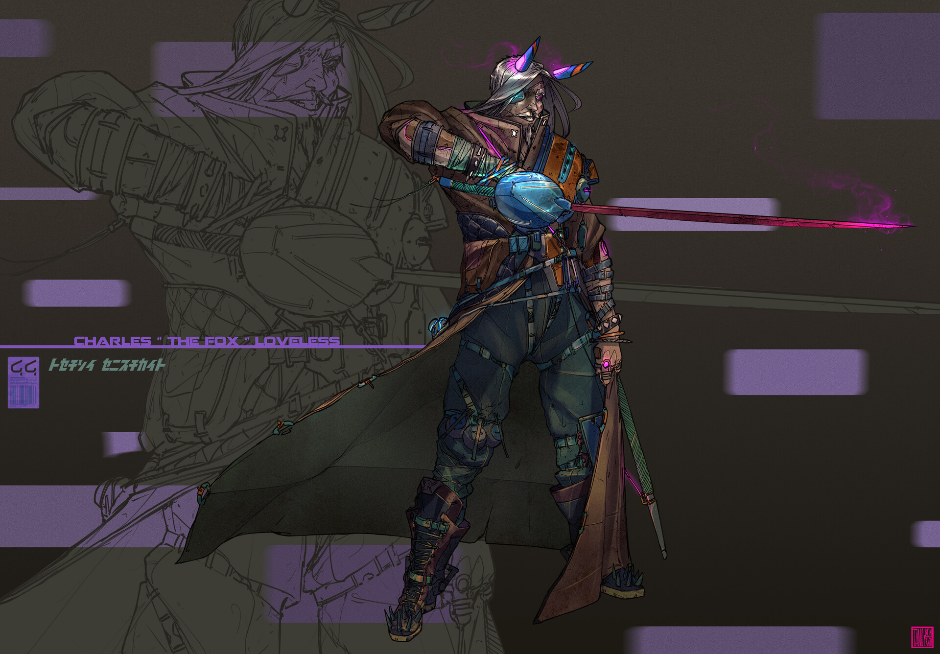 Tano bonfanti pose color new sillouette