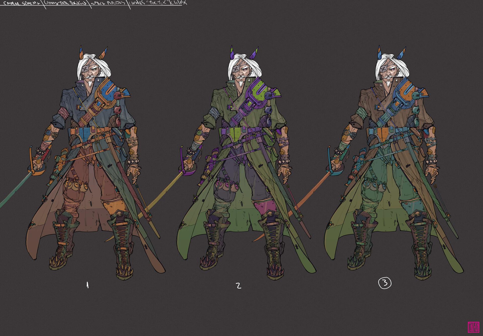 Tano bonfanti 5 color scheme