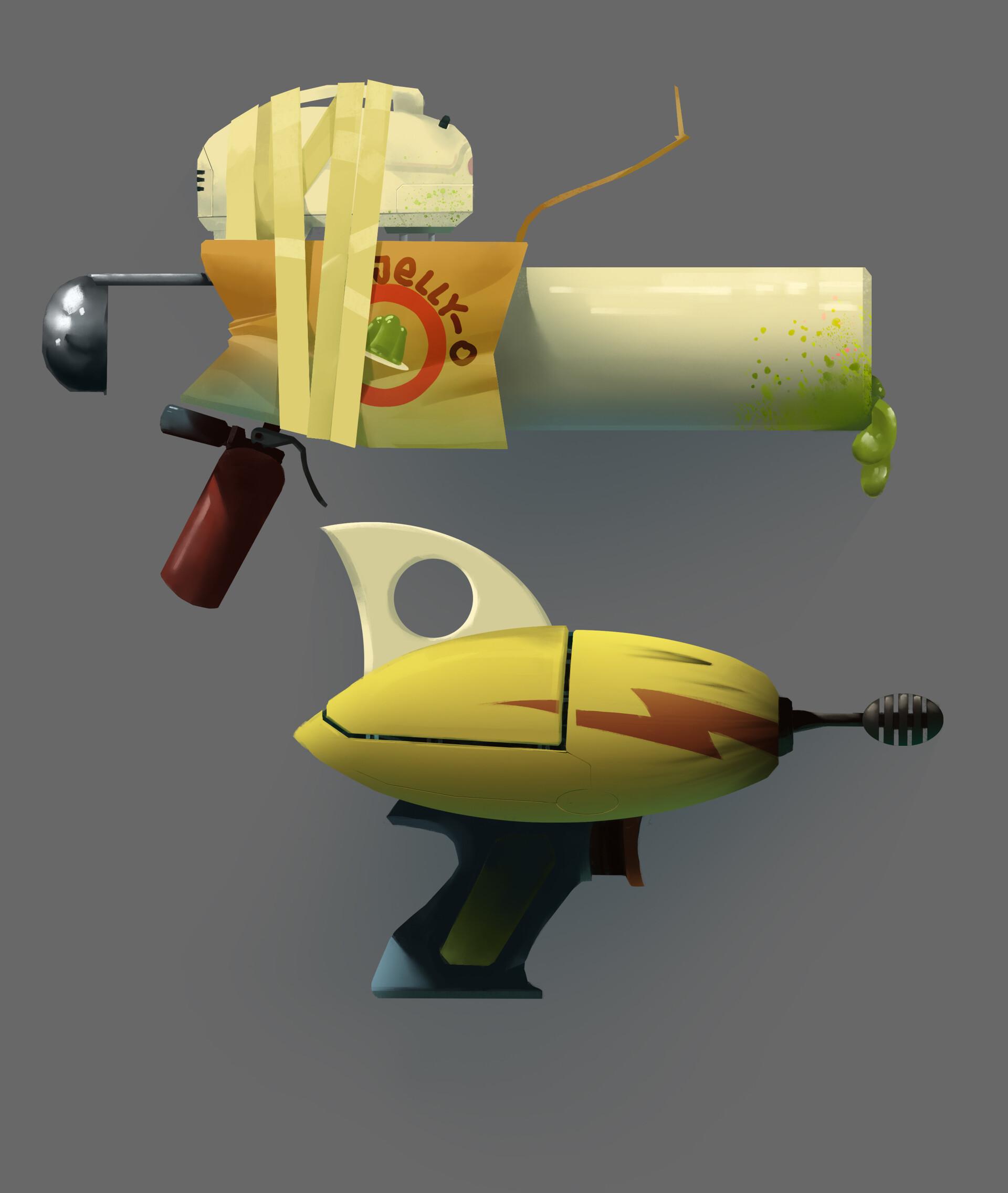 ArtStation - Weapons, Zsigmond Lehel