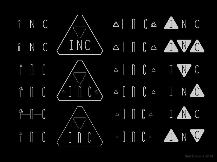 Neil blevins inc logo b
