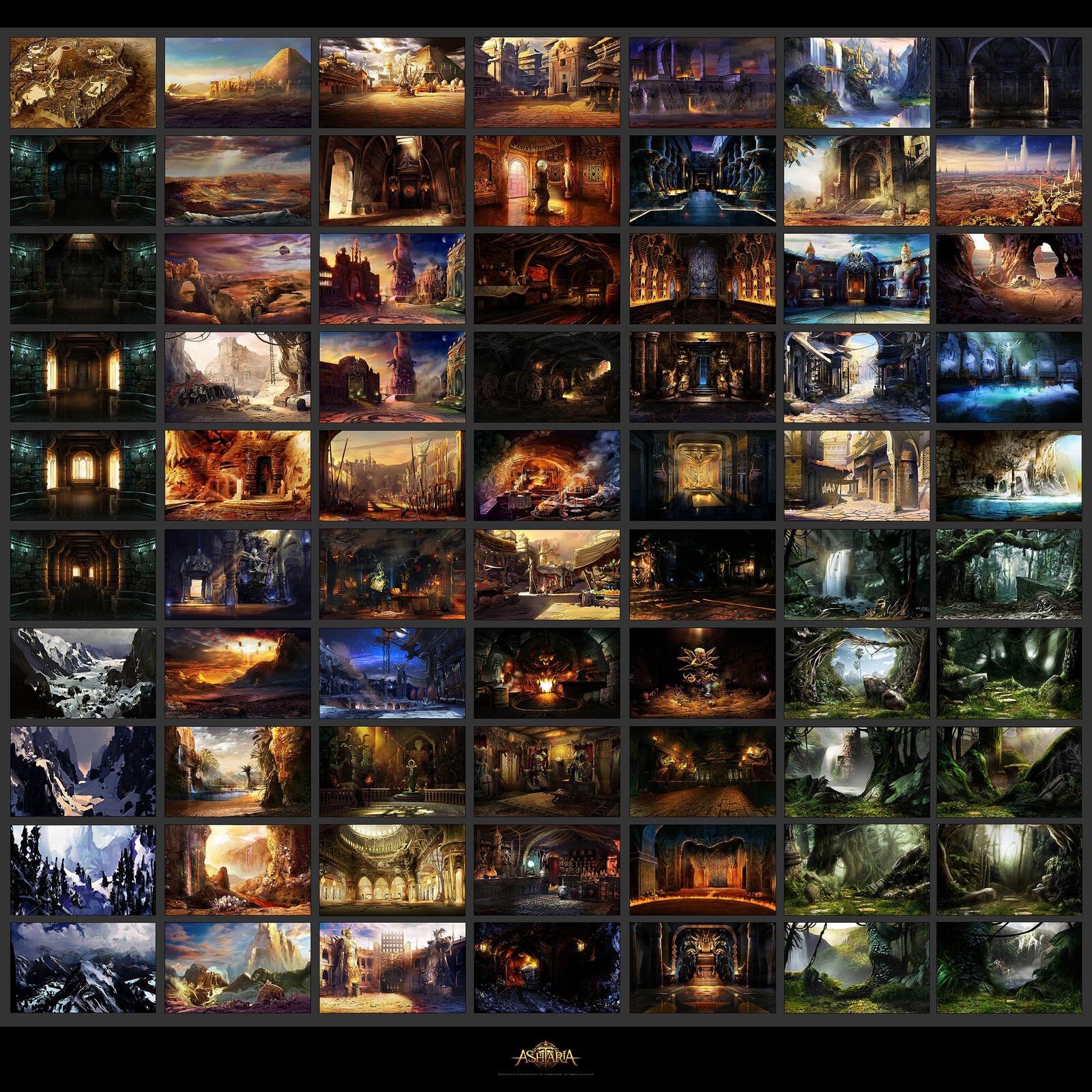 70 Environments
