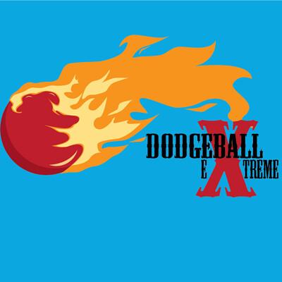 Robert van der slik dodgeballlogo