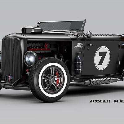 Jomar machado 179 roadster battle version