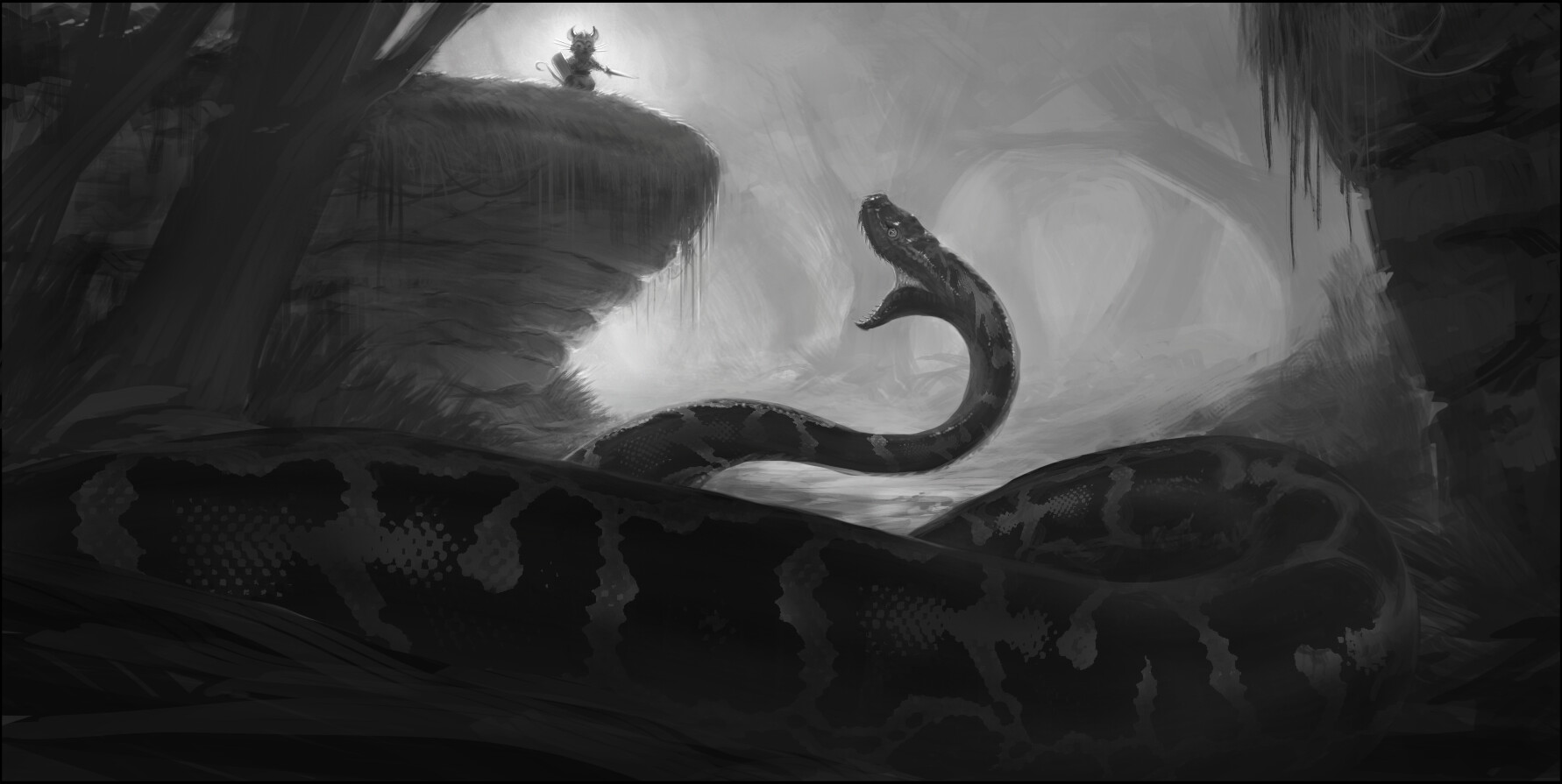 """Lunchtime Sketch: """"Asmodeus"""""""