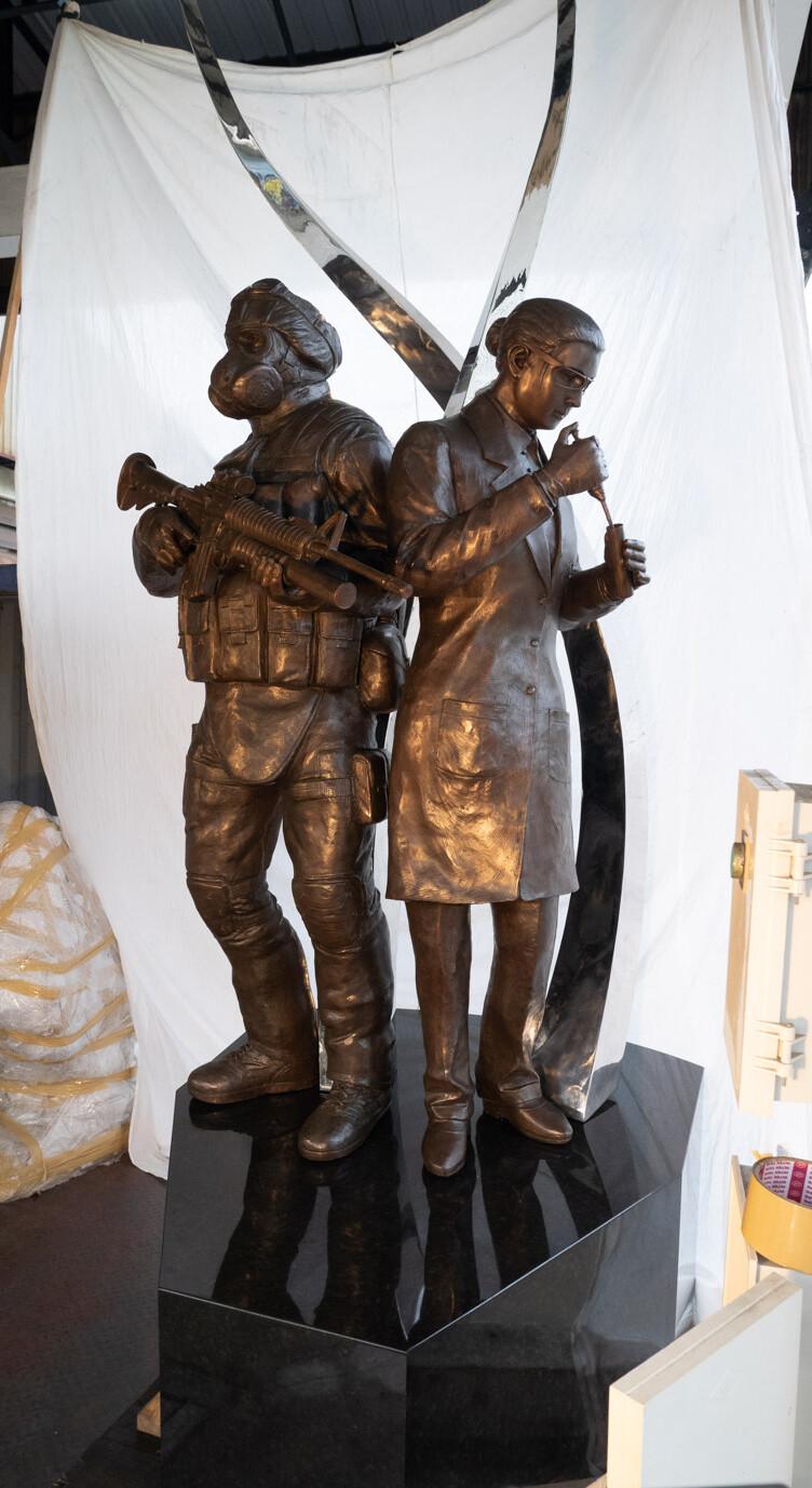 Final statue