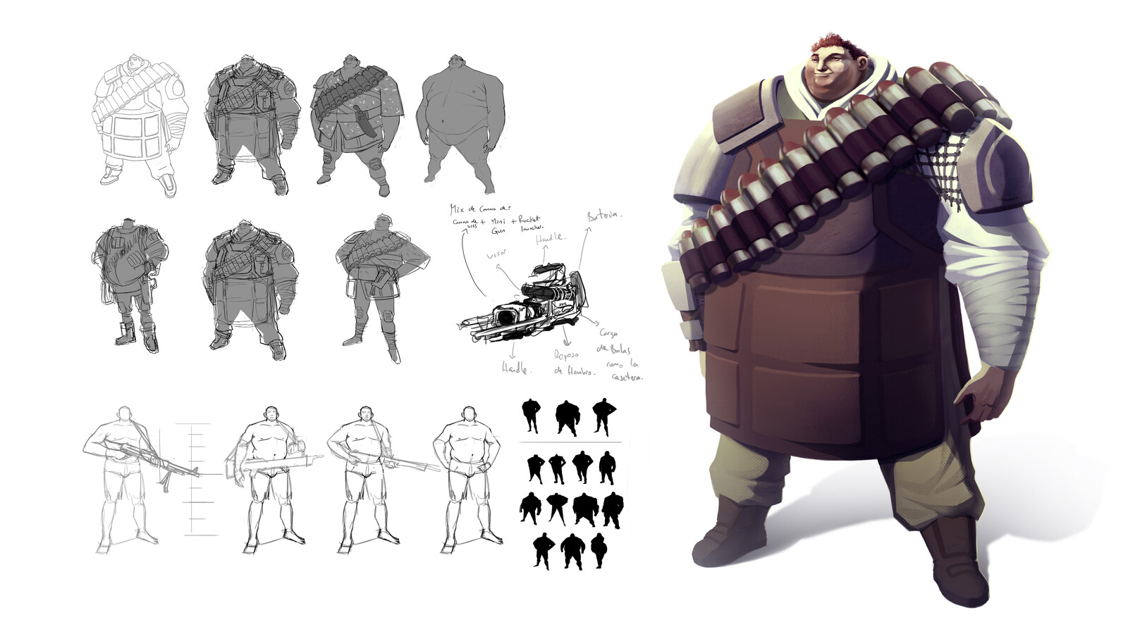 Character for Personal project - 001
