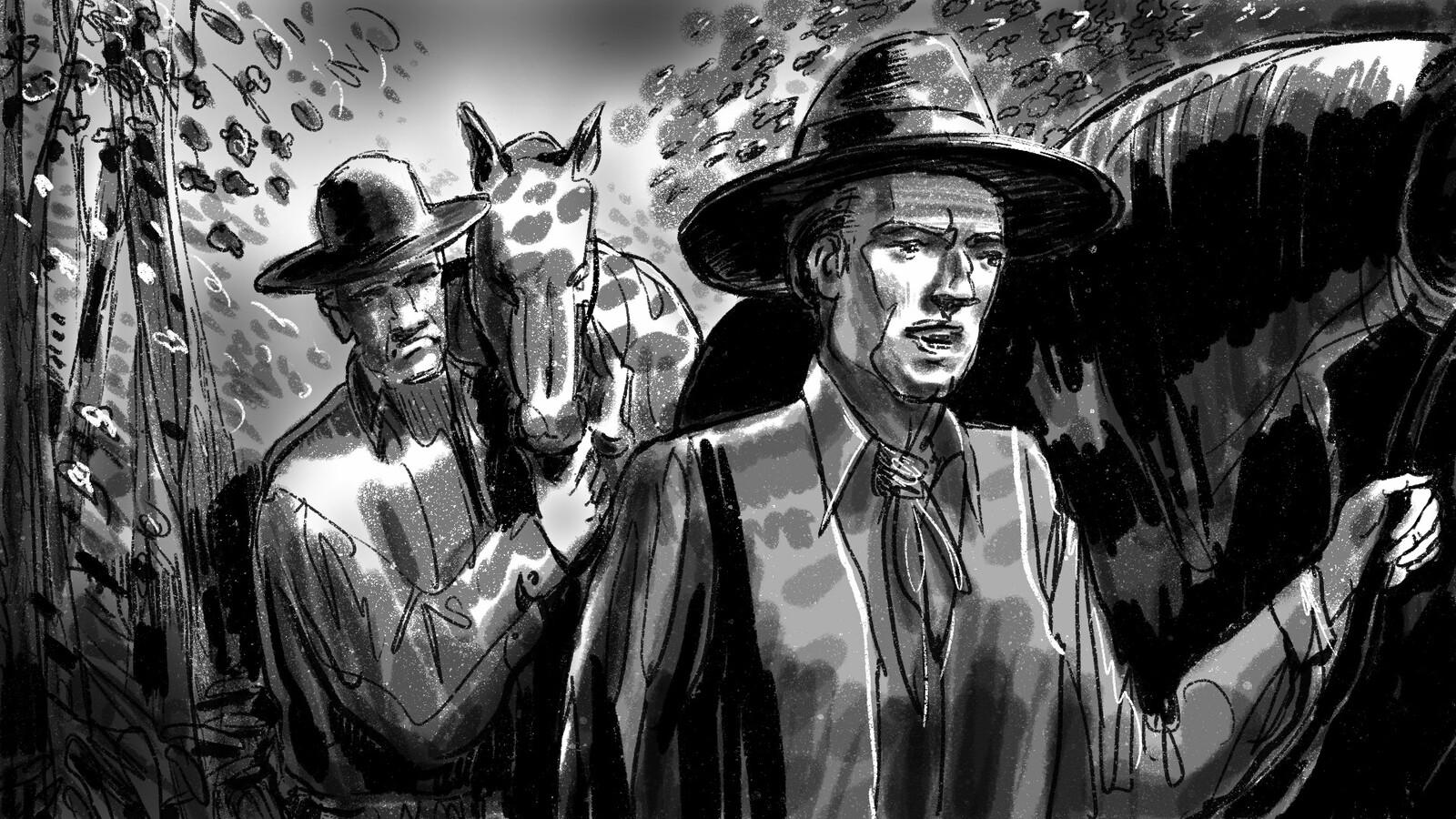 frame #3 Western film