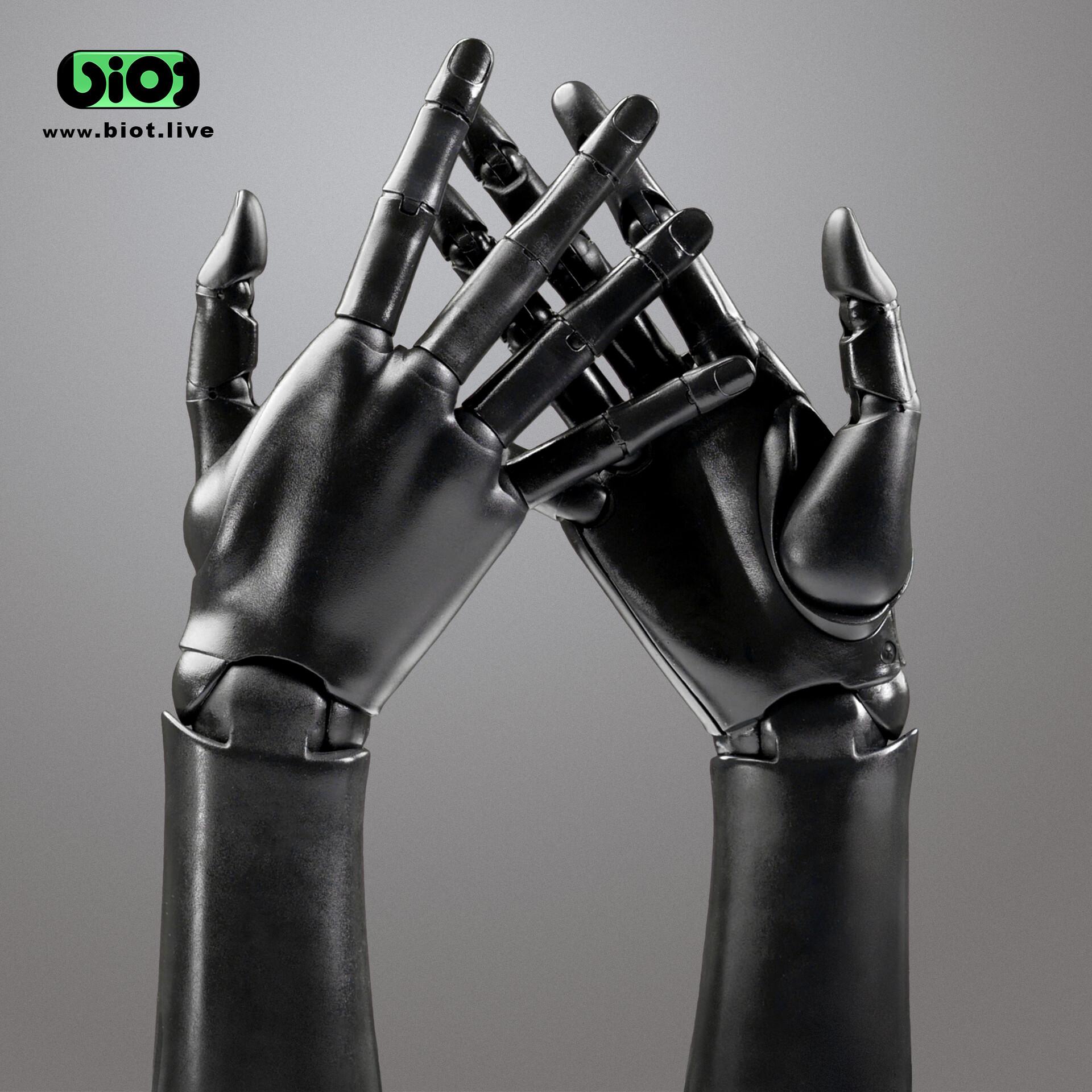 Pair of bionic hands