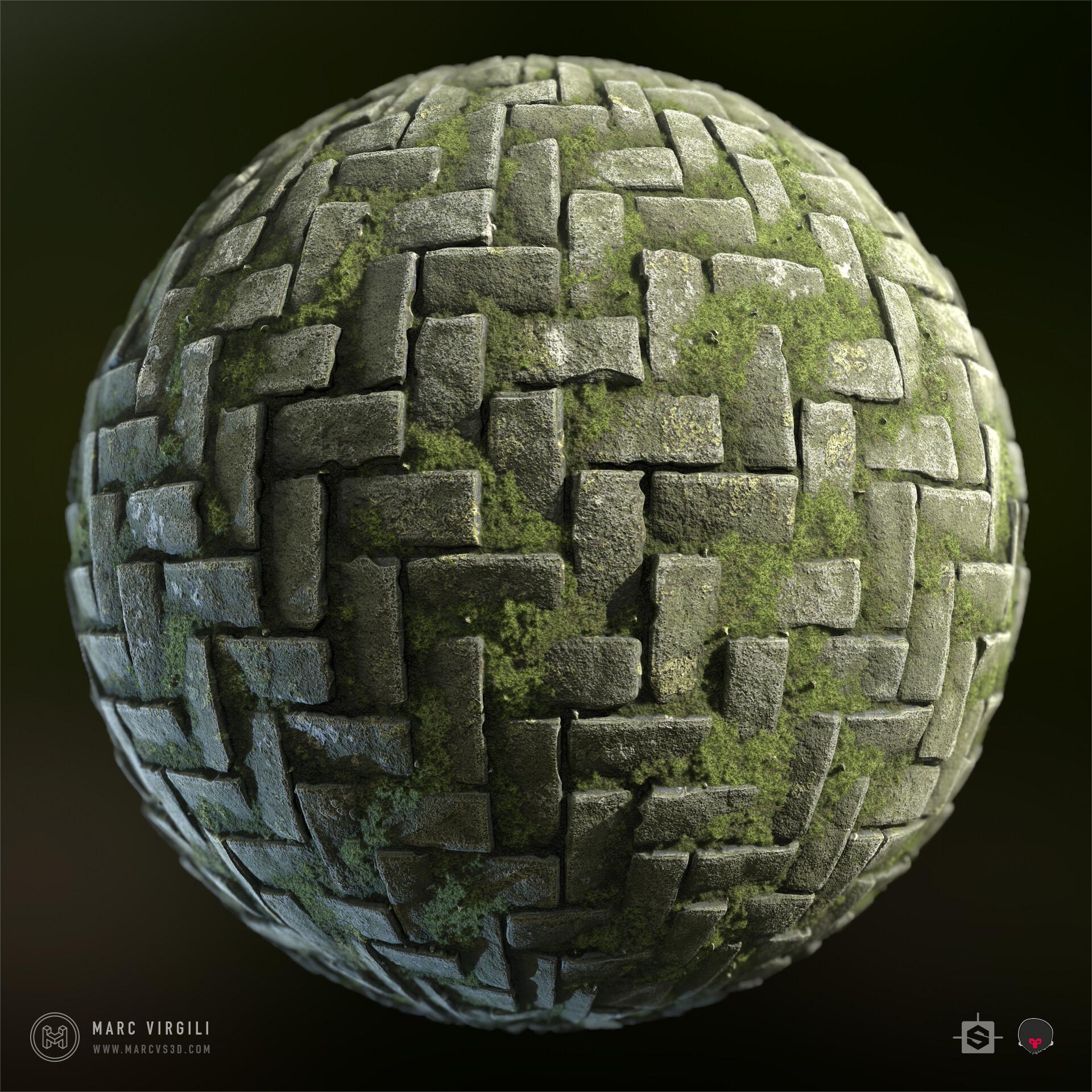 Marc virgili cobblestone sphere mat