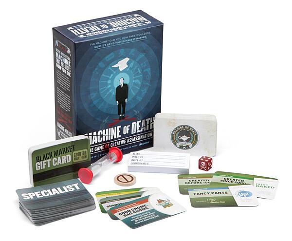 Christopher kallini 1f11 machine of death card game