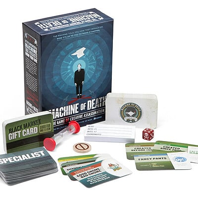 Christopher kallini 1f11 machine of death card game