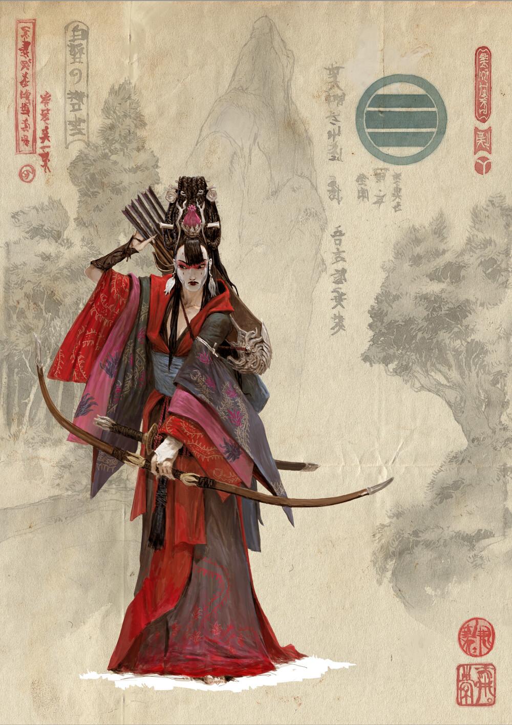 Adrian smith monk clan 5