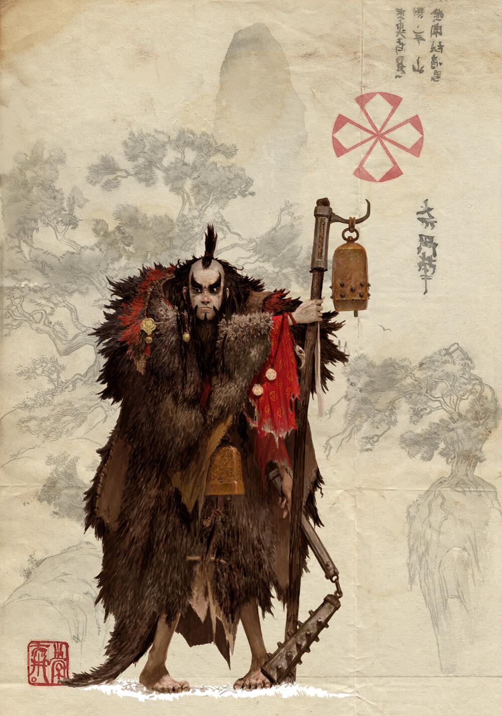Adrian smith monk clan3
