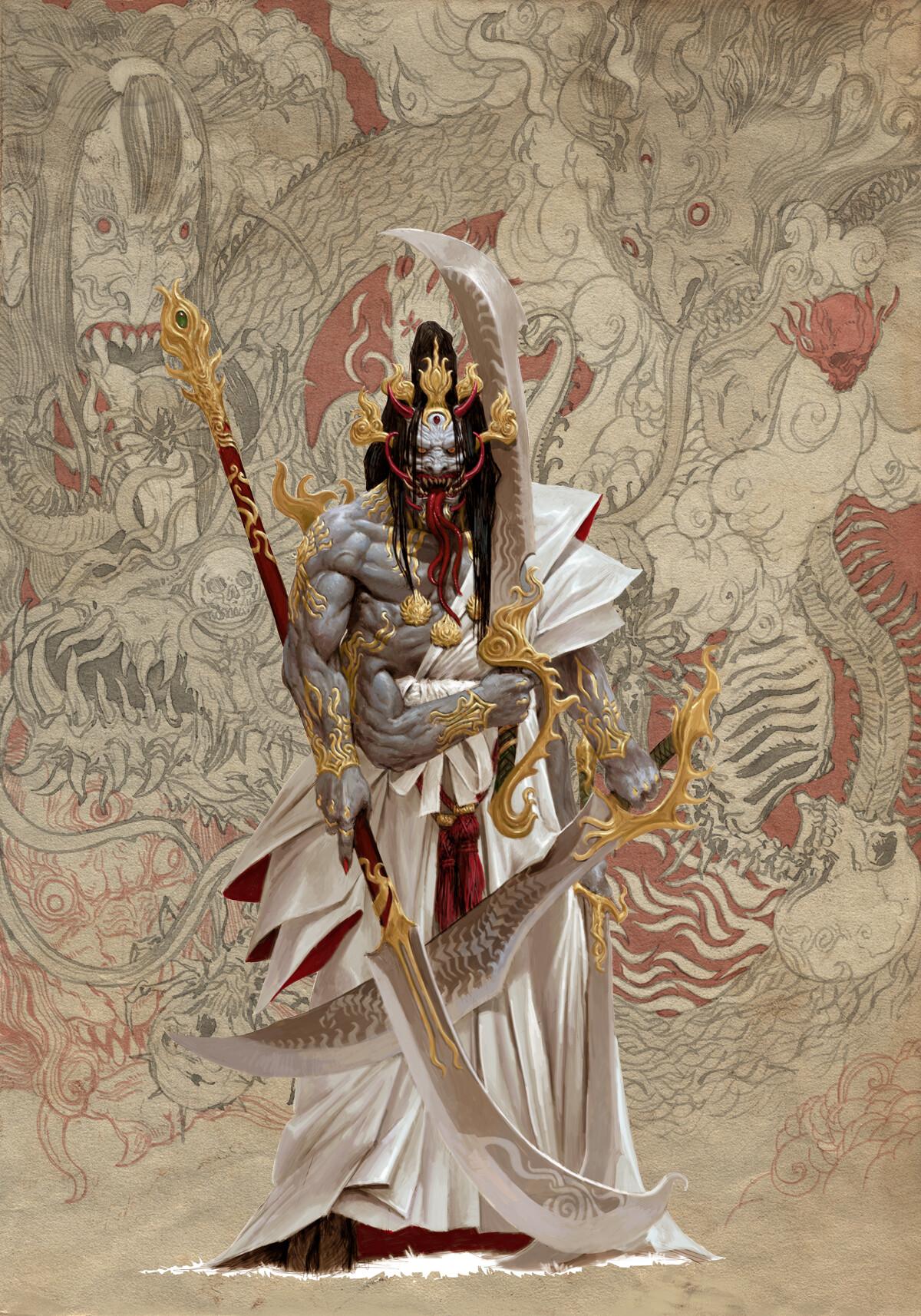 Adrian smith monster demon 1