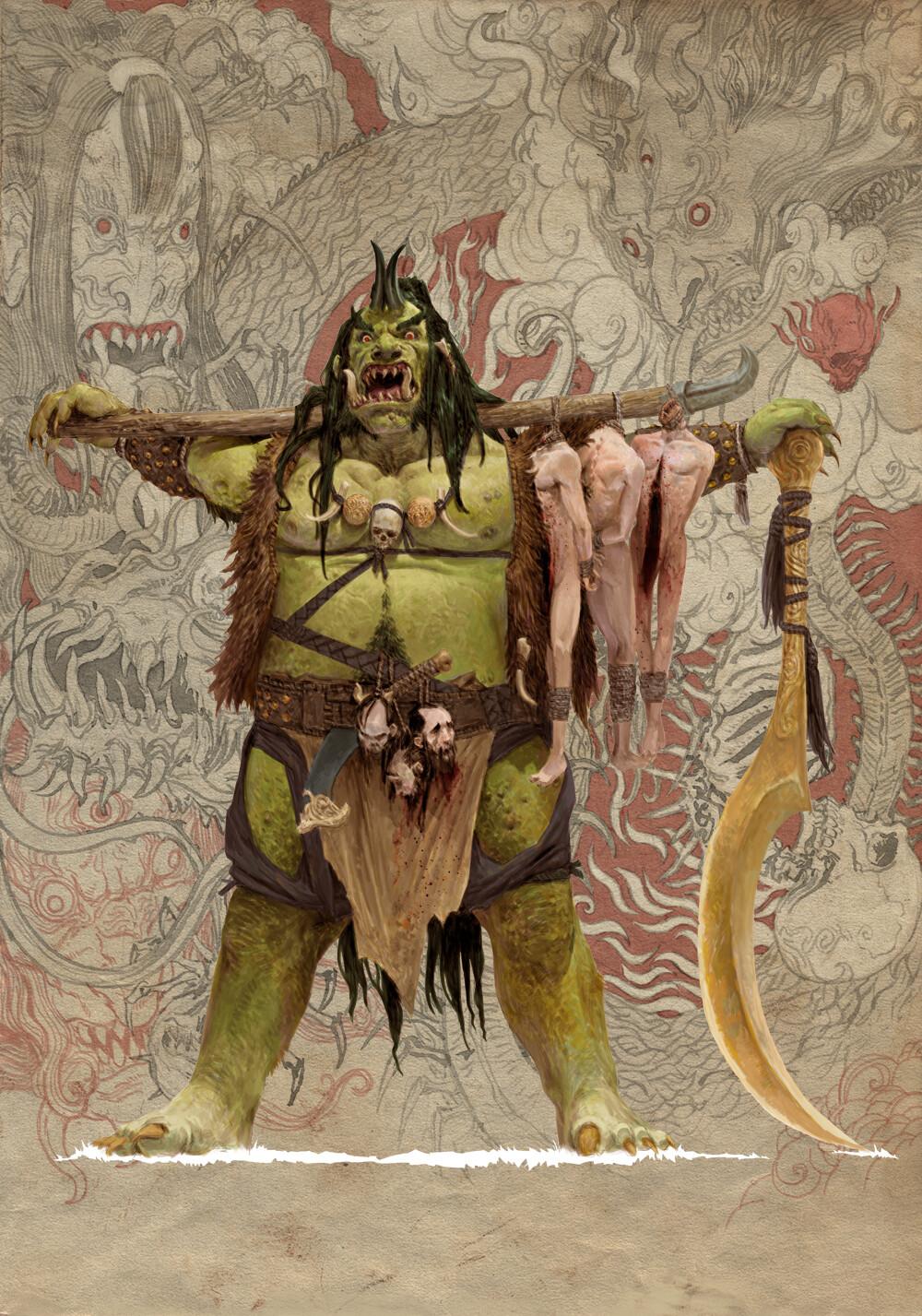 Adrian smith monster demon oni 1