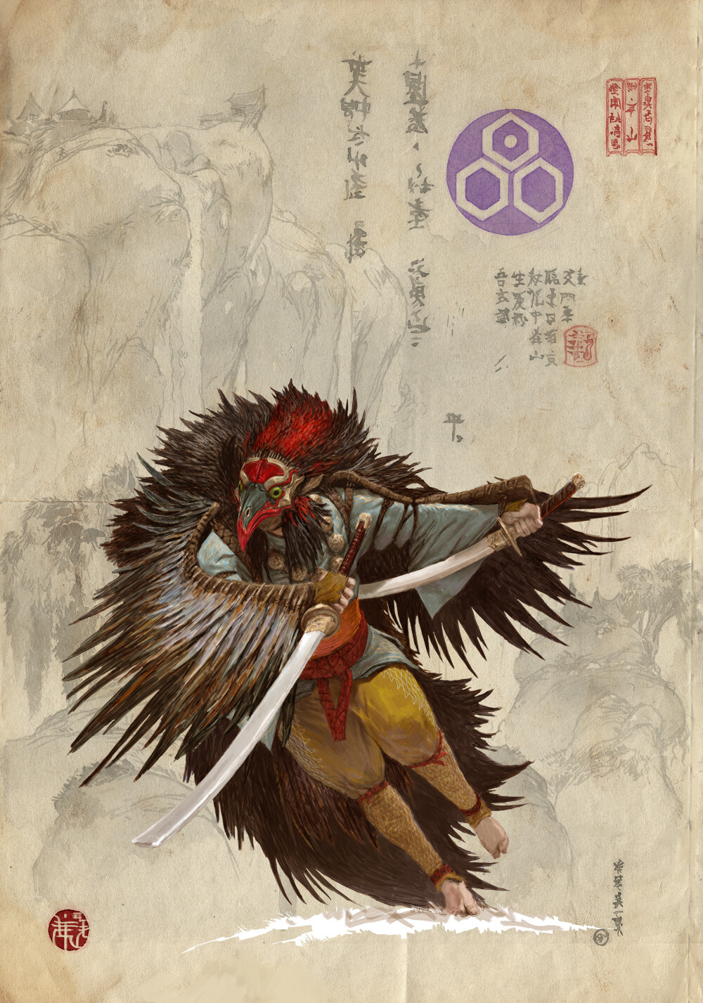 Adrian smith monk clan4
