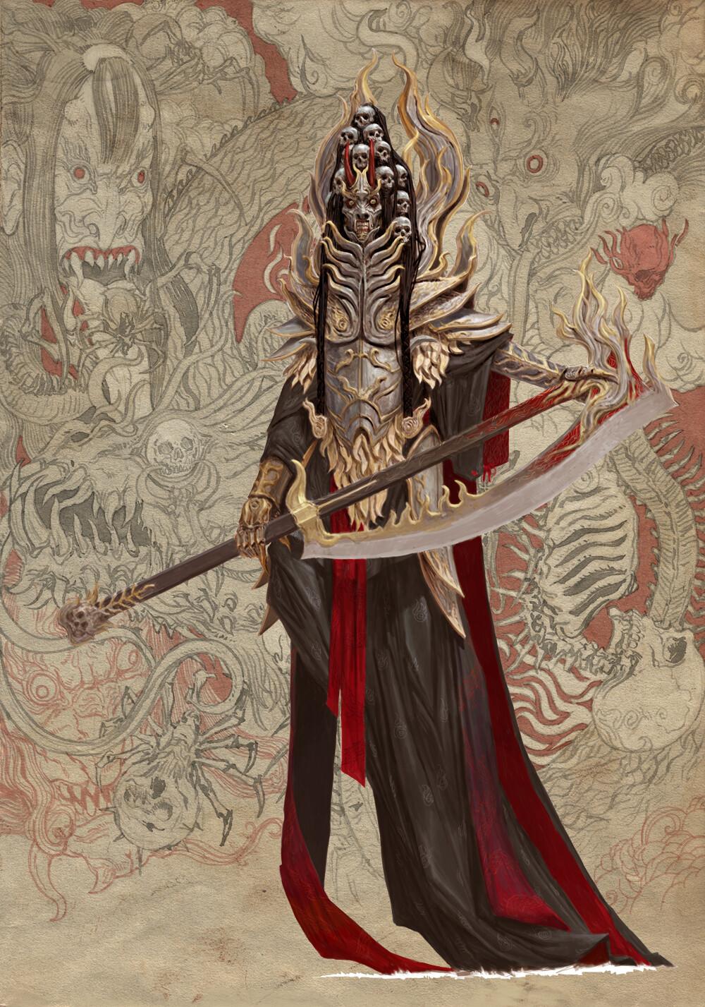 Adrian smith monster demon oni 2