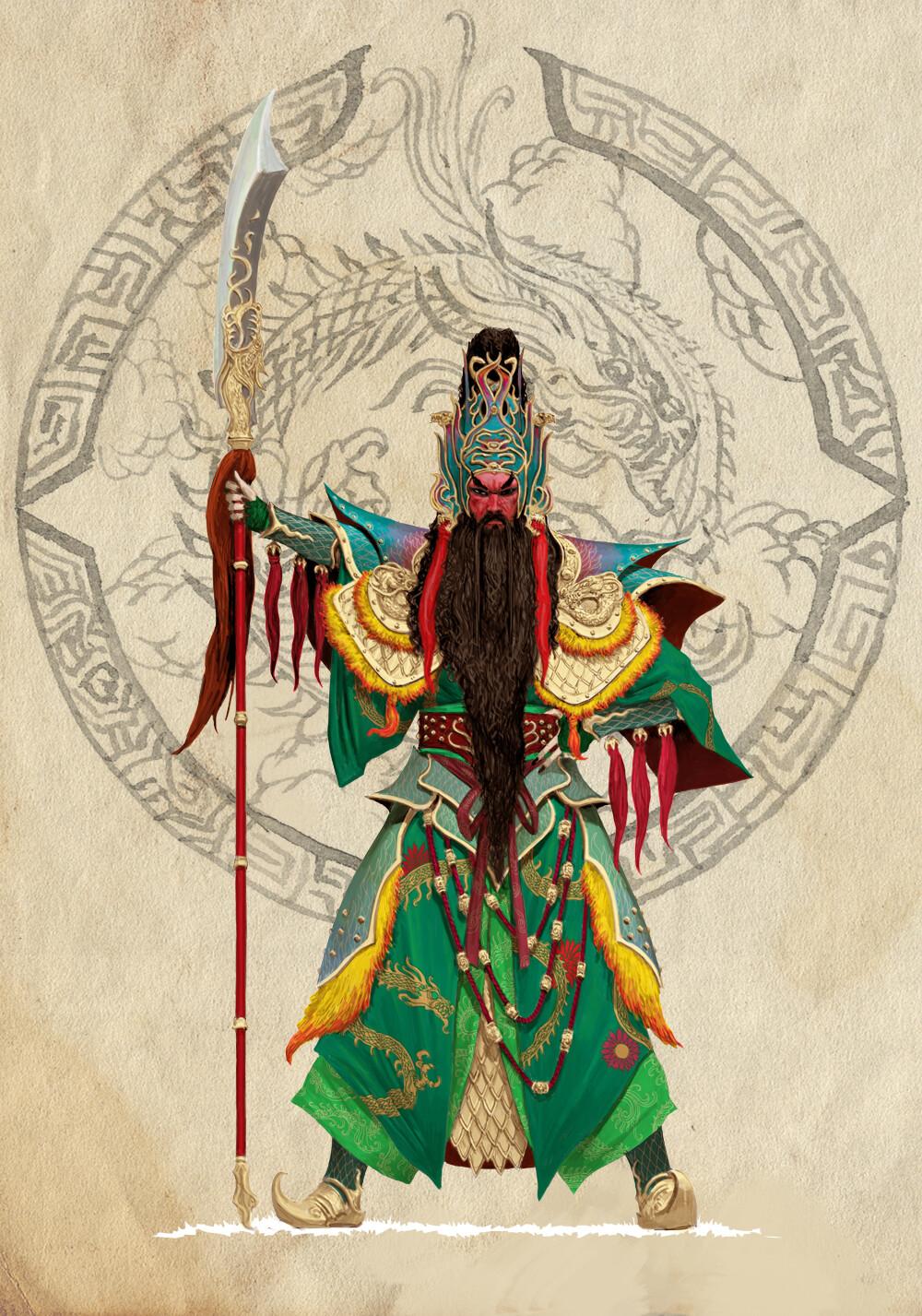 Adrian smith dynasty guan yu