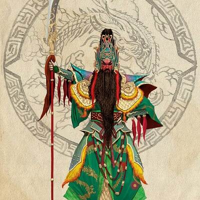 Adrian smith dynasty guan yu