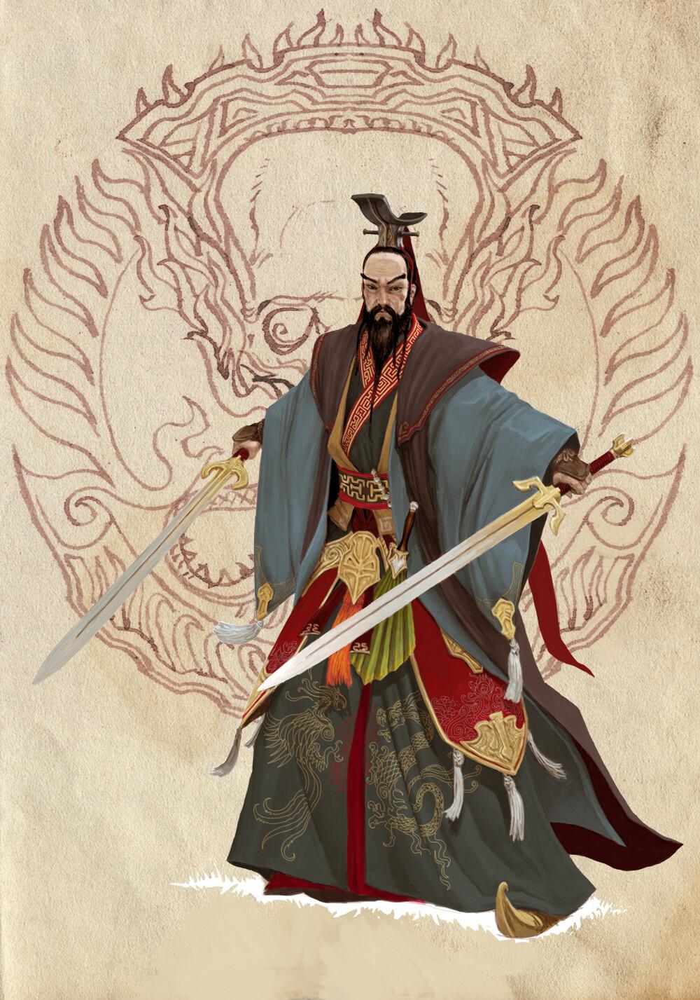 Adrian smith dynasty liu bei
