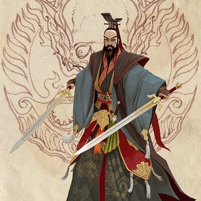 Adrian smith dynasty liu bei