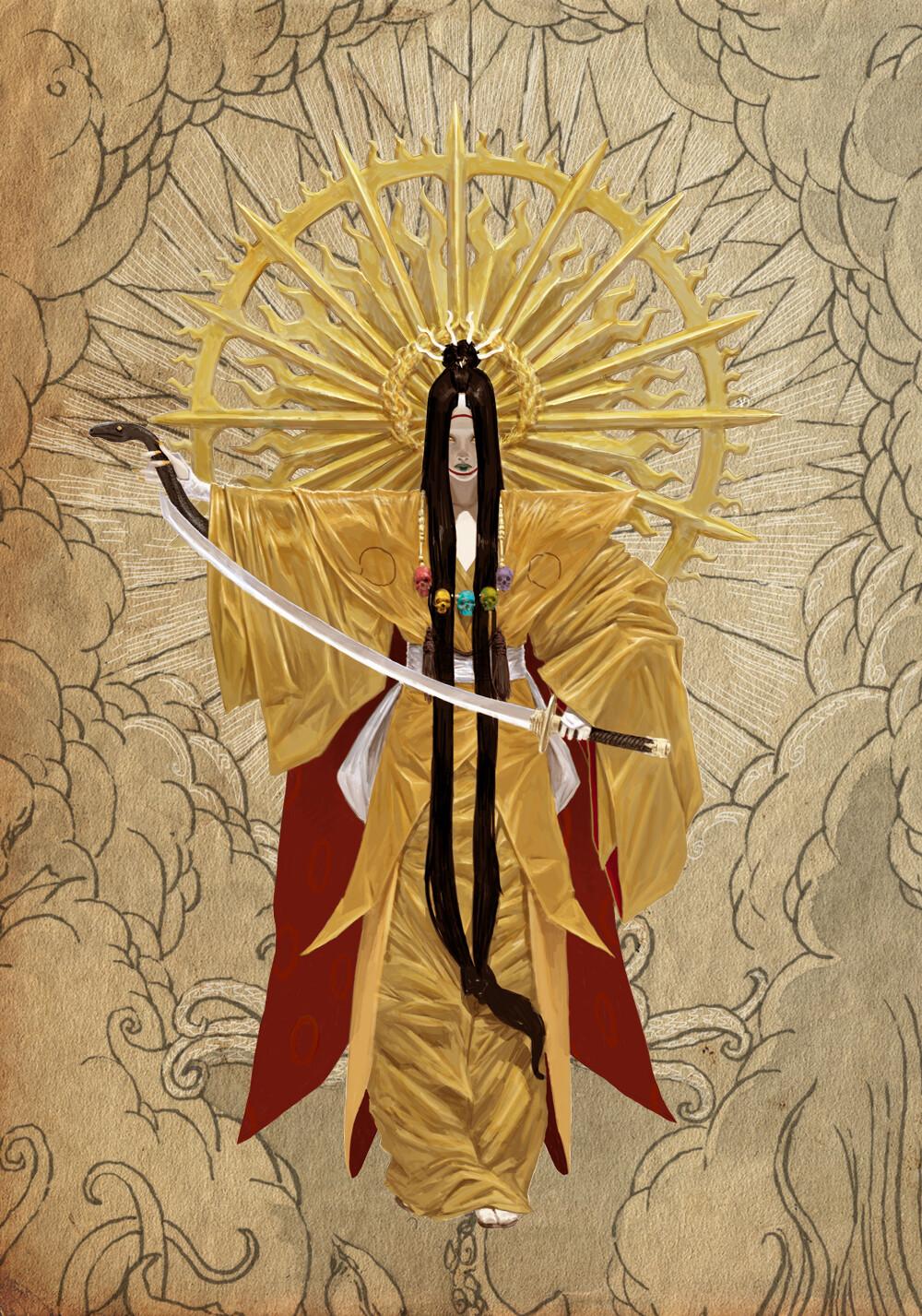 Adrian smith japanese gods amaterasu