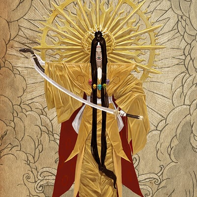 Adrian smith japanese gods amaterasu