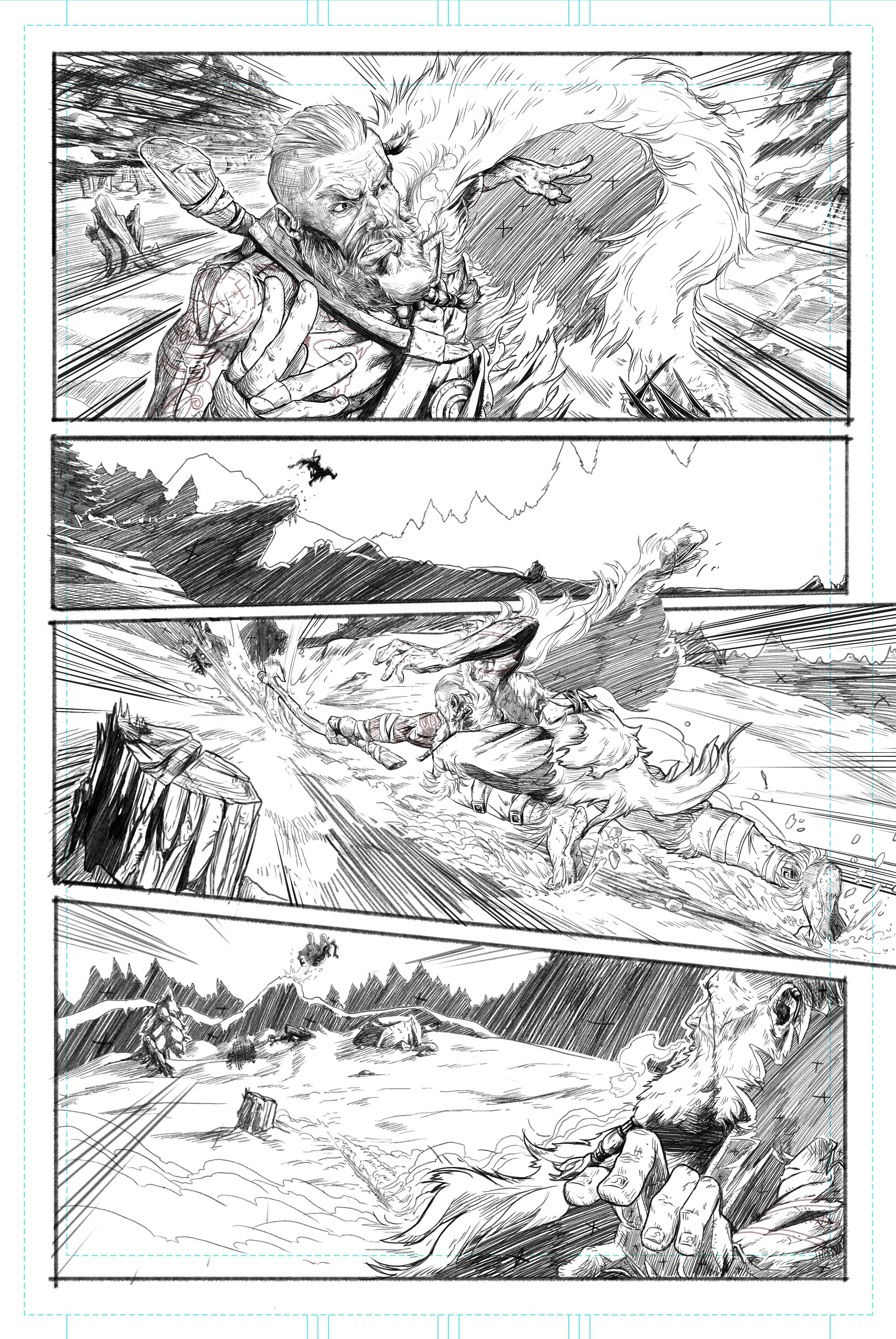 Page 1 - Pencil Art