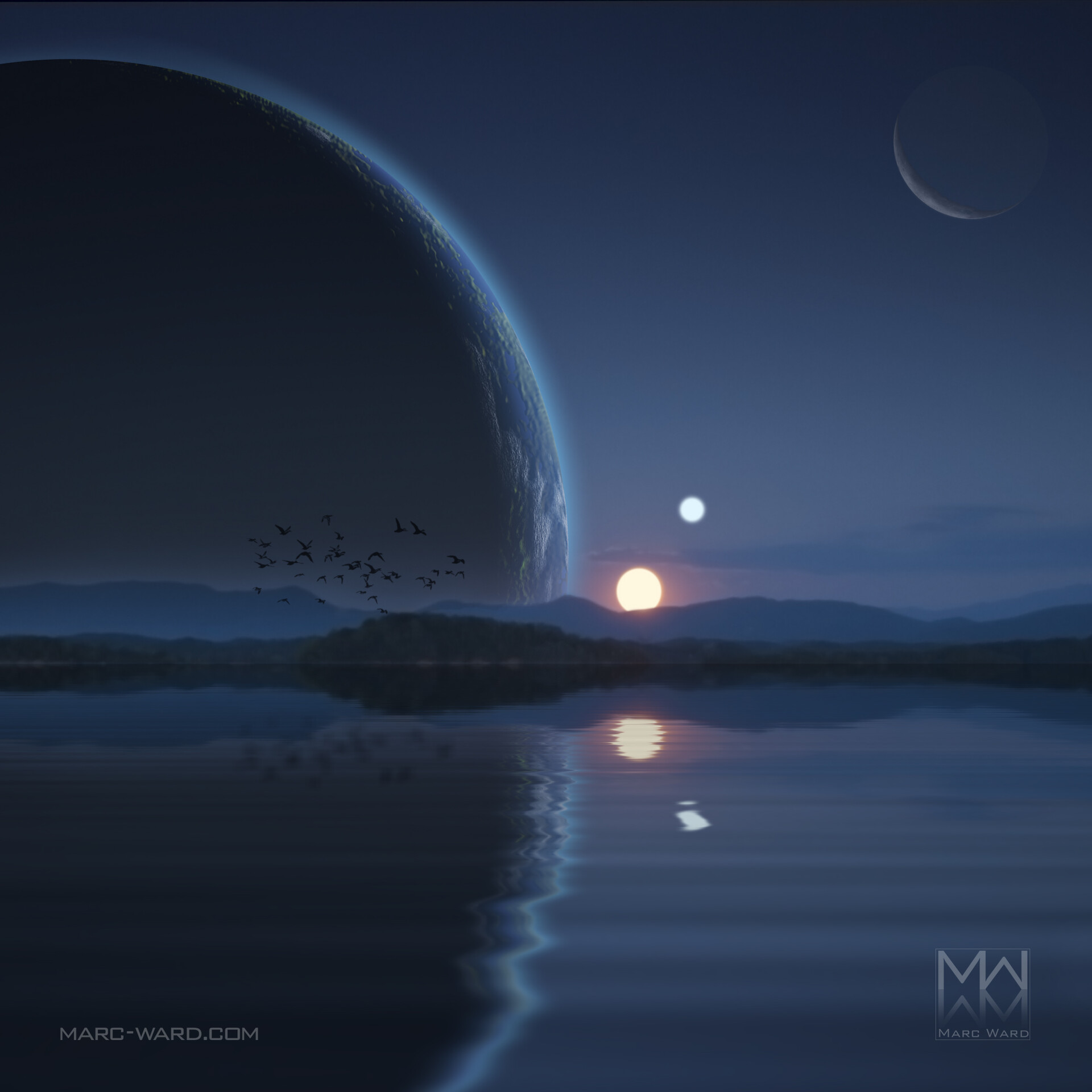 Marc ward binary sunset3 as