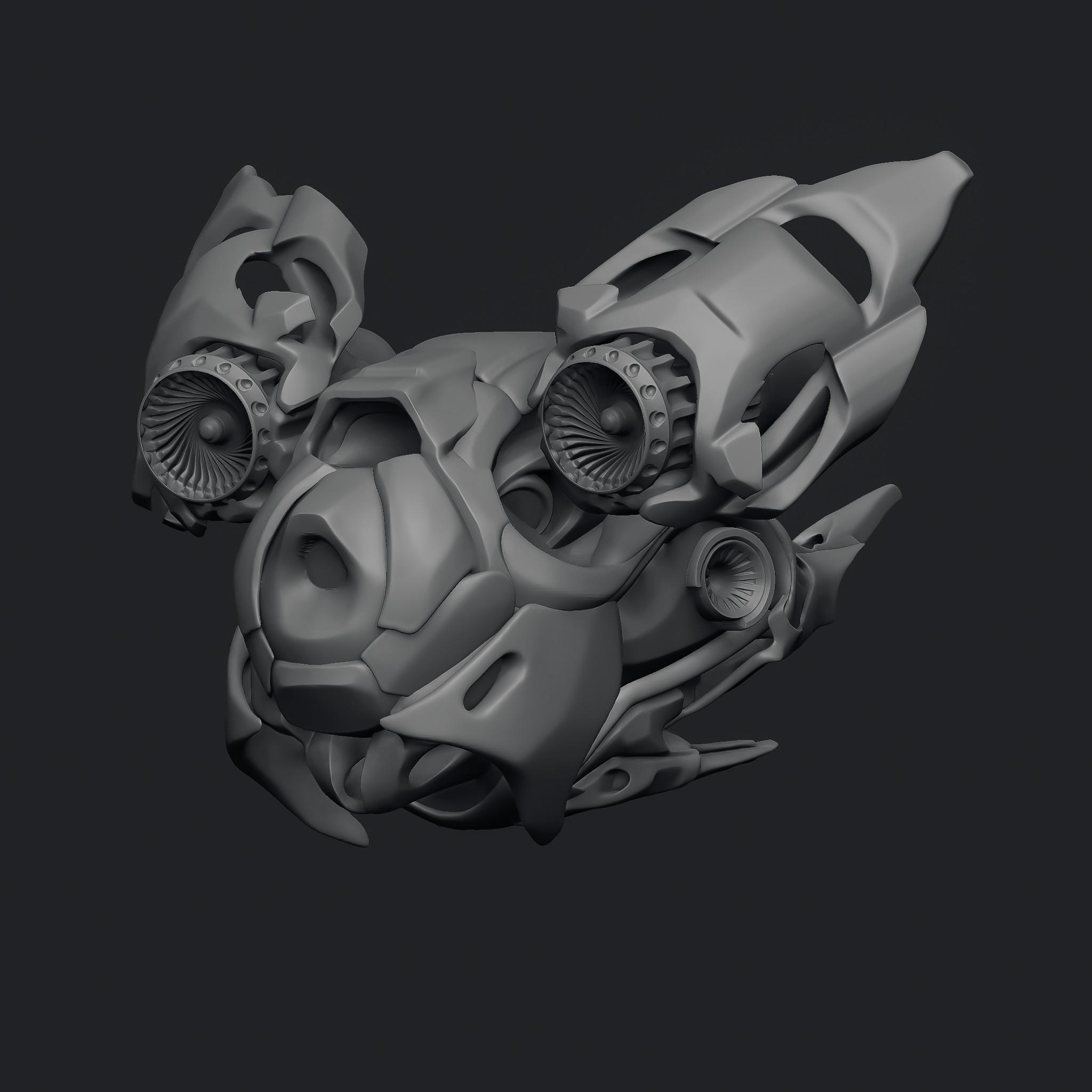 Drone concept sculpt
