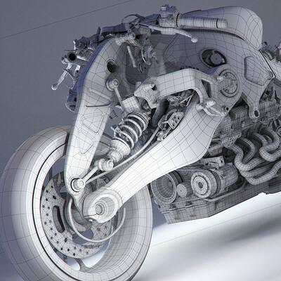 Ying te lien concept bike 0215 frame