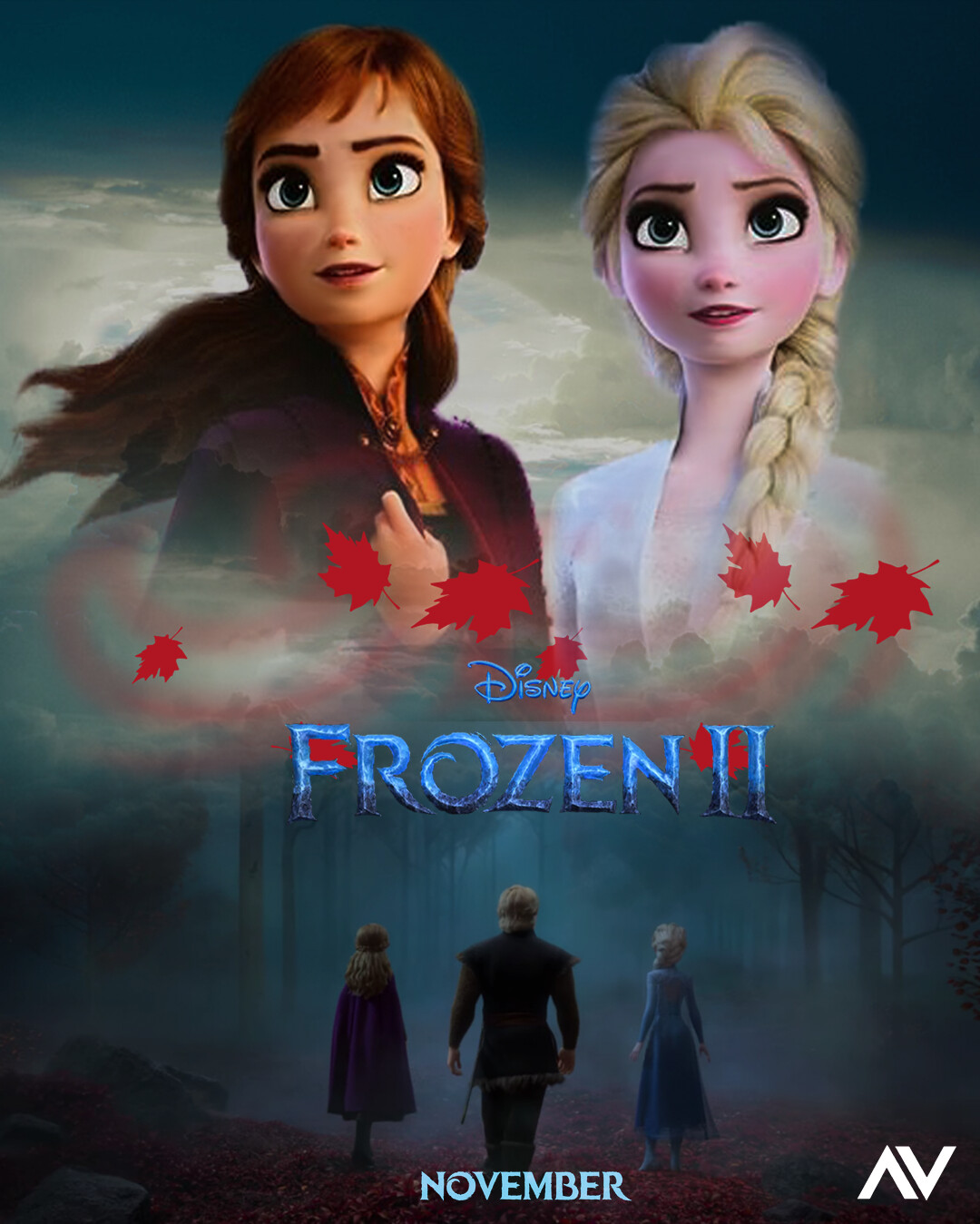 New Hindi Movei 2018 2019 Bolliwood: Frozen 2 Poster