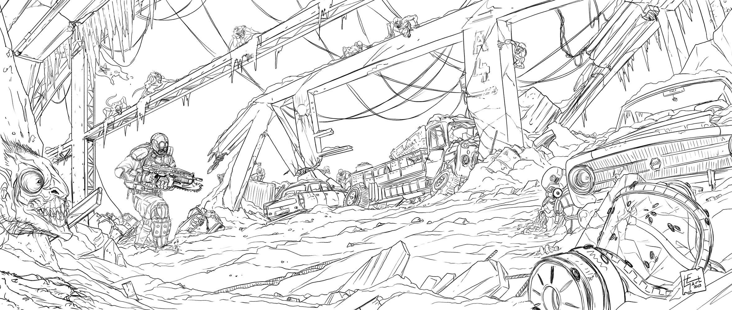 Pencils - Sketch