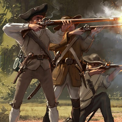 Sviatoslav gerasimchuk american militia by sviatoslav scifi d7rgn1c fullview