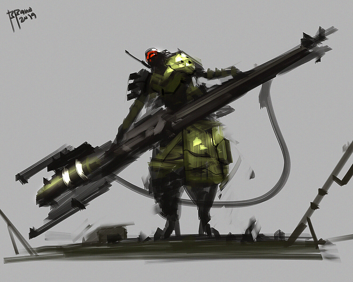 Benedick bana destroyer lors