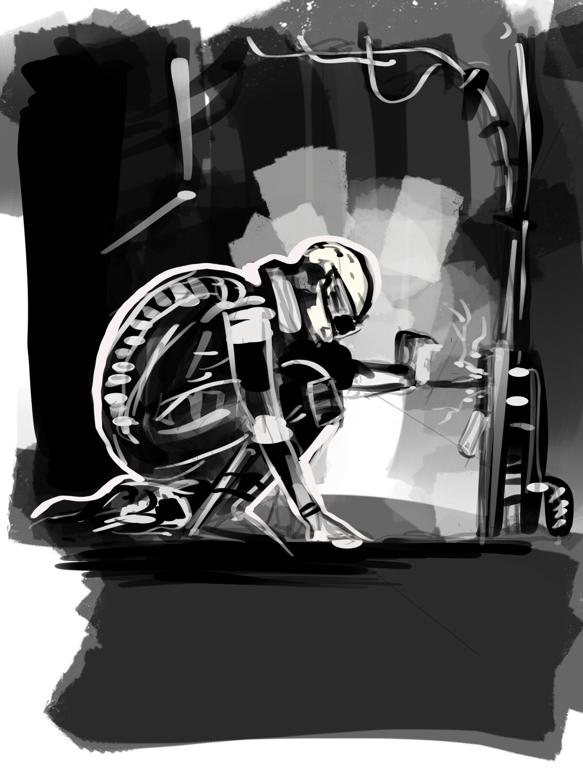 Leak sketch