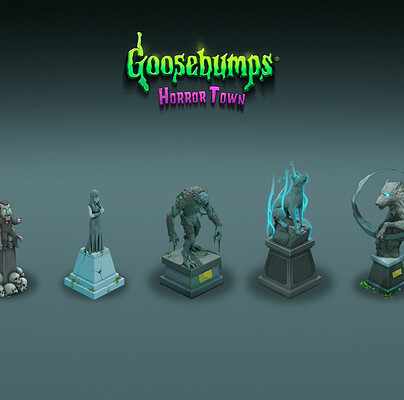 Damian grx estatuas